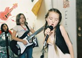 NICOLE WEINGART - A future Sleater-Kinney performs at Portland's Rock 'n' Roll Camp for Girls.