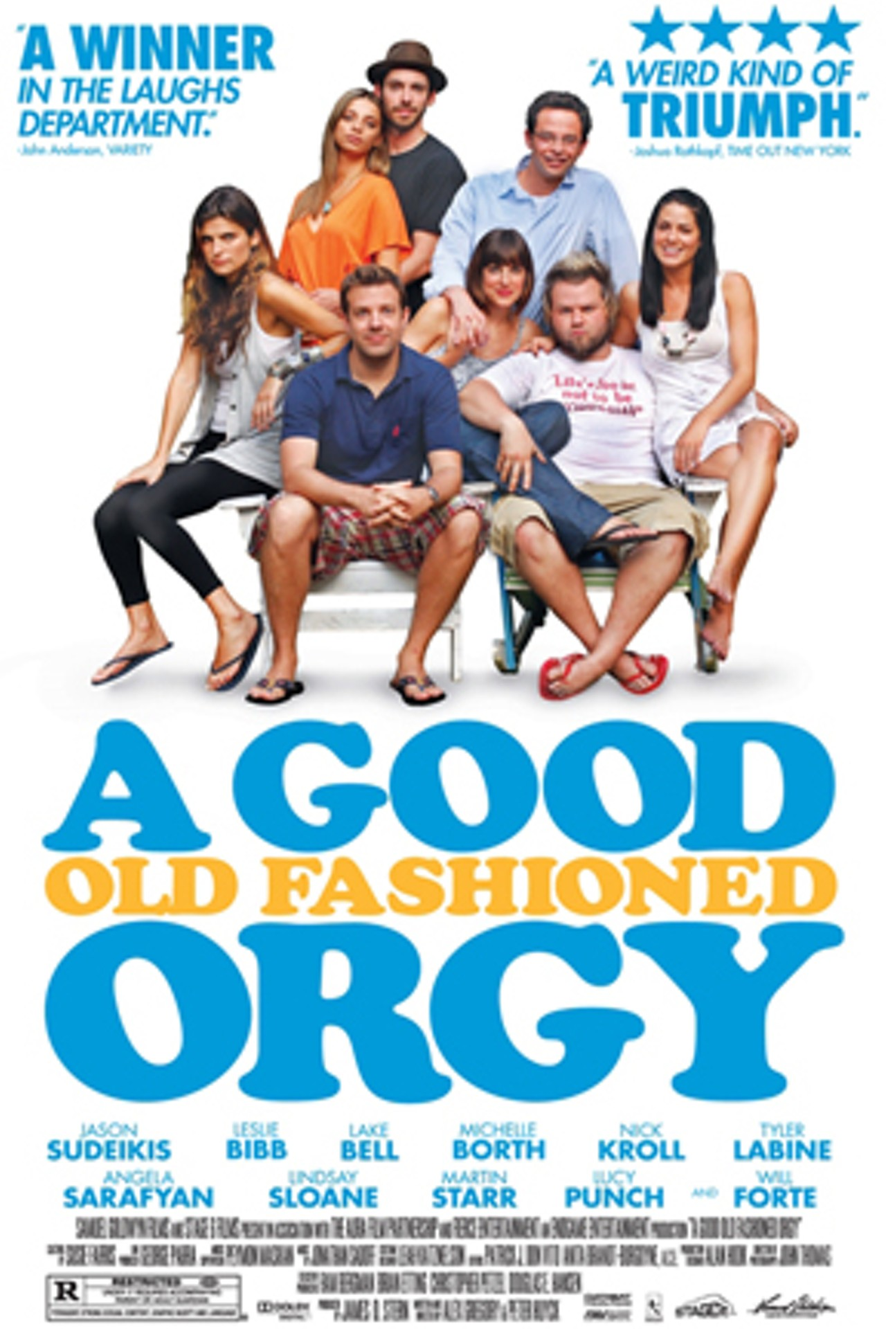 A Good Old Fashioned Orgy Pelicula