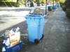 A new recycling cart.