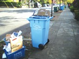 NATE SELTENRICH - A new recycling cart.