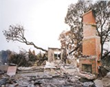 A photograph by Ali Richards from the 2009 Santa Barbara fires.