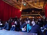 A rapt Nerd Nite audience.