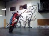 A stunt from Firebird.