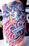 A tattoo by Devon Blood.