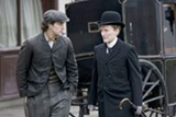Aaron Johnson and Glenn Close star in Albert Nobbs