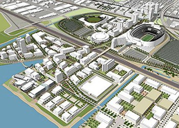 Activists Shape Oakland Coliseum Area Plan