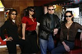 GABRIELA HASBUN - Adulterers' bane: PI Chris Butler and some of his crew.
