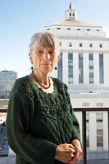 STEPHEN LOEWINSOHN - Alameda County Supervisor Gail Steele, an advocate for family court reform, says the courts get it wrong about 80 percent of the time.