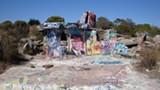 JACK PARROTT /FLICKR (CC) - Albany Bulb, located on a former landfill, is full of outdoor art installations.
