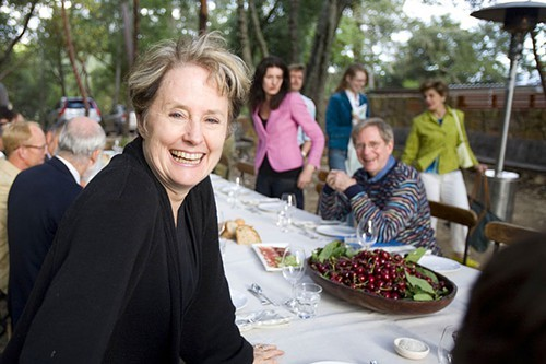Alice Waters, circa 2007.