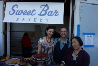 Allegedly, Mayor Quan snagged a cupcake during Sweet Bars last Art Murmur pop-up.