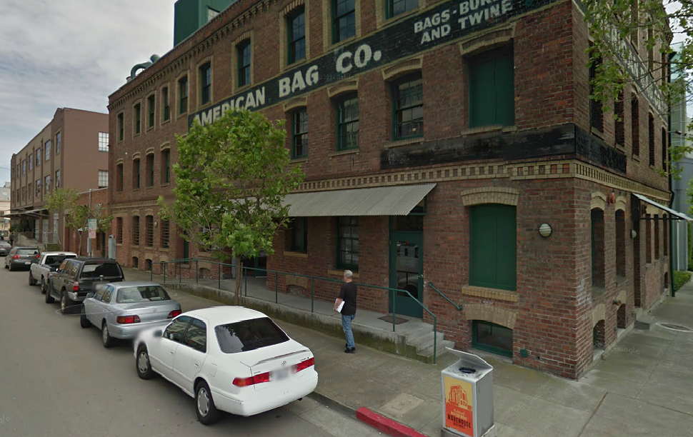 American Bag Co. building in Jack London Square