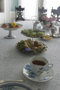 High Tea at the Pardee Home