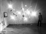 An installation by Jennifer and Kevin McCoy, who will be showing at Johansson Projects in October.