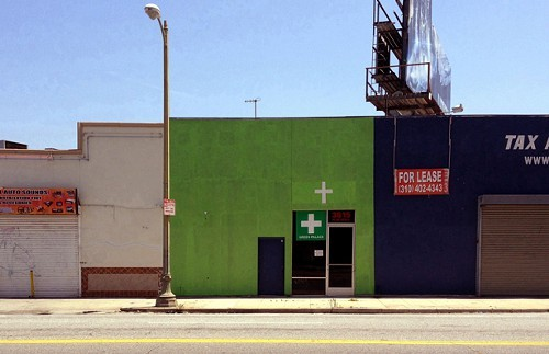 An unregulated L.A. pot shop