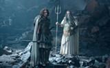 Édgar Ramírez plays Ares and Danny Huston plays Poseidon in Wrath of the Titans.