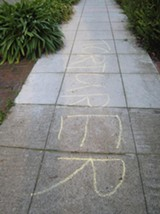 Animal rights activists strike in Berkeley.