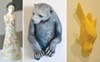 Art by Natalie Cartwright, Joseph Kowalczyk, and Monica Van den Dool.