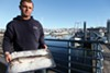 As salmon and halibut catches have declined precipitously, wholesaler and restaurateur Kenny Belov has turned to farm-raised trout.