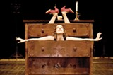 RICHARD HAUGHTON - Aurélia Thierrée channels an old circus tradition in Aurélia's Oratorio.