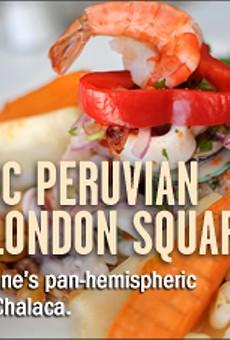 Authentic Peruvian in Jack London Square