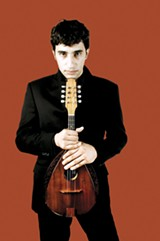 "Avi Avital will perform in ""The Ark."""