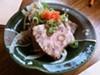 B-Dama's beef shin tataki.