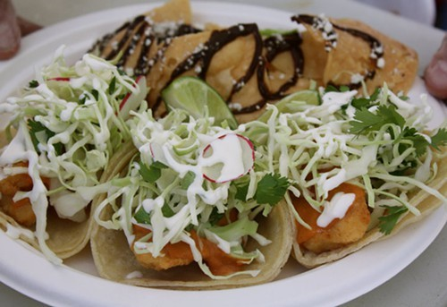 The Baja fish tacos (via Facebook)