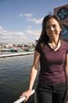 Barbara Jung plans to run the half-marathon.
