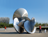 """Beasley's """"Gathering of the Moons"""" (2007) in Olympic Park, Beijing. - BRUCE BEASLEY"""