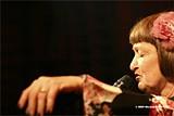 Bebop legend Sheila Jordan sings - at the Jazzschool Saturday.