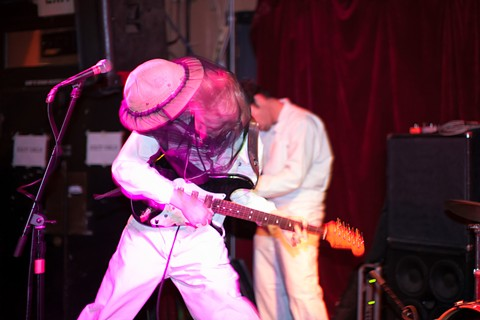 Beekeepers played a careening, fitful set at Thee Parkside. - BERT JOHNSON