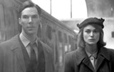 Benedict Cumberbatch and Keira Knightley star in The Imitation Game.