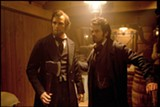 Benjamin Walker and Dominic Cooper star in Abraham Lincoln: Vampire Hunter.