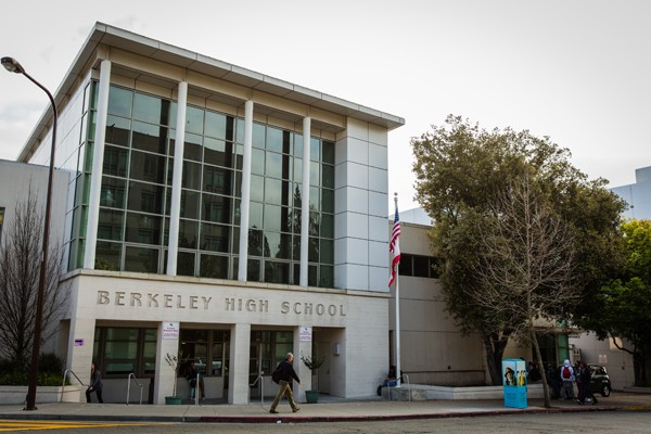 Berkeley High School. - FILE PHOTO / STEPHEN LOEWINSOHN