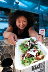 MELISSA BARNES - Best Fusion Food Cart: Seoul on Wheels.