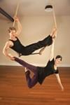 Best yogini/circus aerialist: Laura Camp.