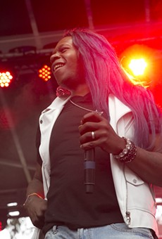 Big Freedia performs at San Francisco's Outside Lands festival. Photo by Raymond Ahner.