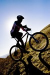 Bikers complain about the lack of narrow single-track trails.