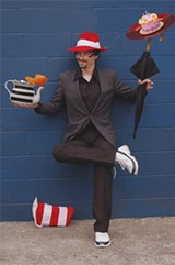Bill Olson as the Cat in the Hat.