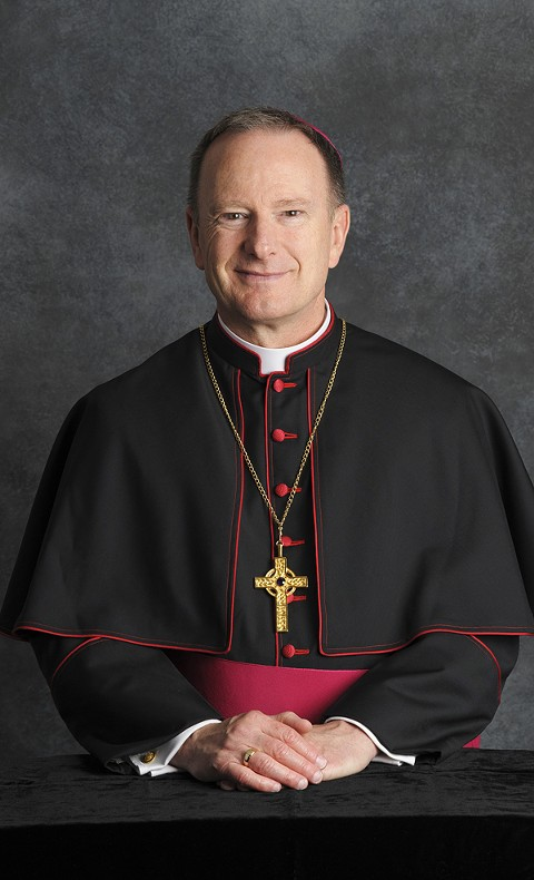 Bishop Michael Barber has not said why he removed the two priests from Newman Hall.