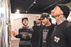 Blood discusses some of the work at a recent show at the Old Crow Tattoo Gallery.