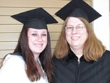 RACHEL SWAN - Brianne and Melanie Crawford both decided to go back to school.