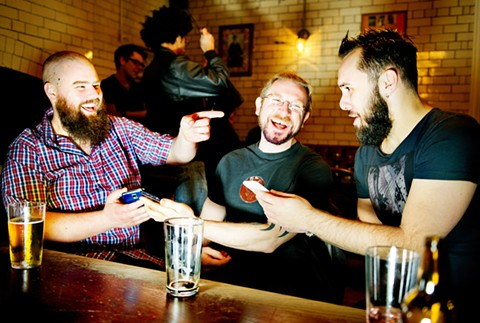 Beer + beards. What could be better?