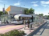 Bus Rapid Transit would now only run from downtown Oakland to the San Leandro border.