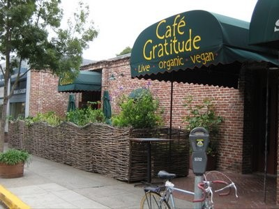Cafe Gratitude: soon to be cheaper, comfortier