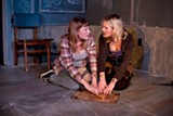 CHESHIRE ISAACS - Caitlyn Tella and Luisa Frasconi in The Chalk Boy.