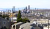 CalPERS owns $1.75 billion in stock in ExxonMobil and Chevron, including its Richmond refinery.