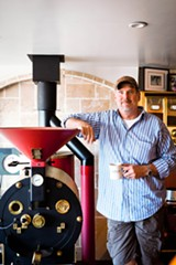 STEPHEN LOEWINSOHN - Catahoula's Timber Manhart learned to roast by trial and error.