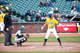 """JOSEPH SCHELL - Chad Bunting (45) is a math major who says playing for Cal baseball has been """"amazing."""""""